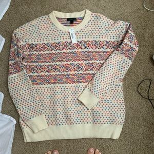J Crew Wool Sweater Size Small NWT